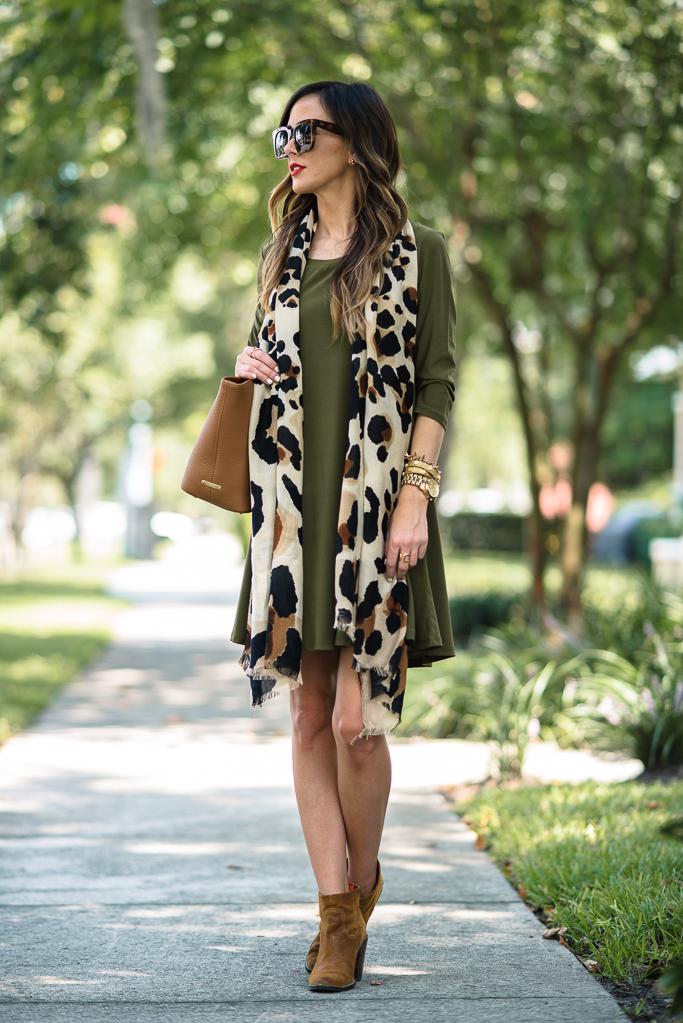 cách mặc váy suông đẹp